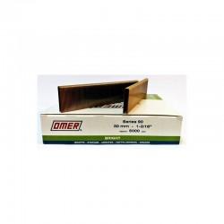 Grapa Serie 90 de 30 mm - Omer - caja de 5000