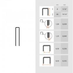 Grapa Serie 92 de 30 mm - Omer - caja de 5000
