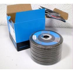 Caja de 25 Discos de Láminas 34318370 Basic, ZA60-B, 27A Forma, 125mm x 22.23 mm - Tyrolit