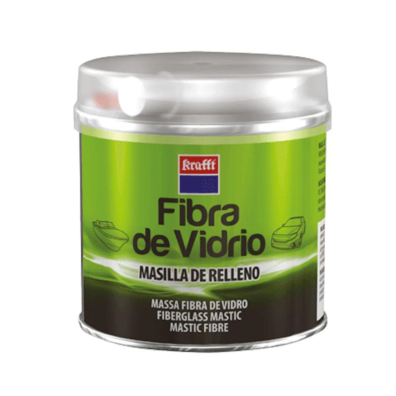 Masilla de Relleno Fibra de Vidrio - Kraffts - 250 grms.