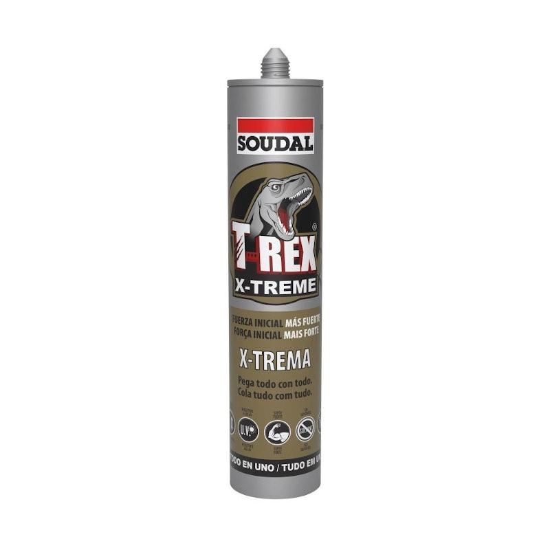 Cartucho Adhesivo de Montaje T-Rex X-Treme - Soudal- 290 ml