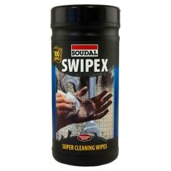 100 Toallitas Limpiadoras Swipex - Soudal