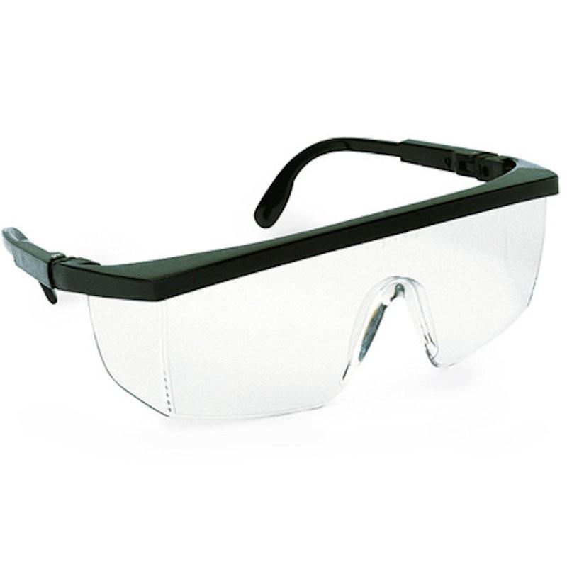 Gafas de protección antirayaduras, patillas regulables mod. EVASPORTN - Singer - Unidad