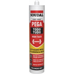 Cartucho Adhesivo de Montaje Pega Todo High Tack - Soudal- 290 ml