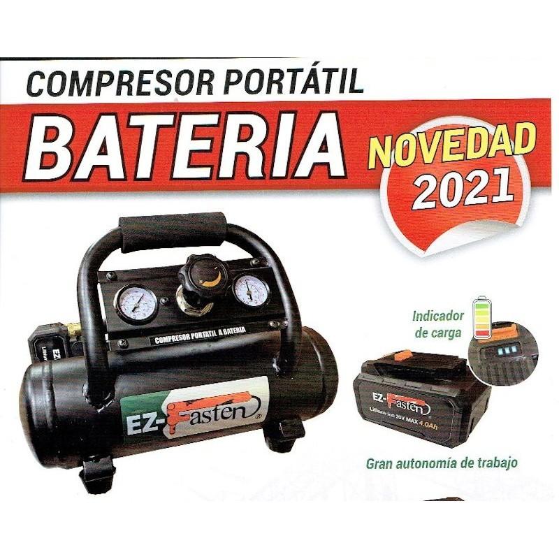 Compresor Portátil de Bateria EZ 4 Battery - Ez-Fasten