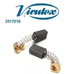 Juego de 2 Unidades Escobillas ref. 3517016 - Virutex