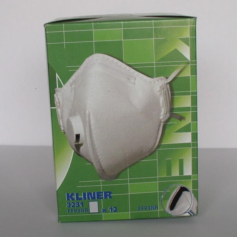 Mascarilla Kliner 3121 FFP2NR - Total Line Protection - Caja 12 unidades