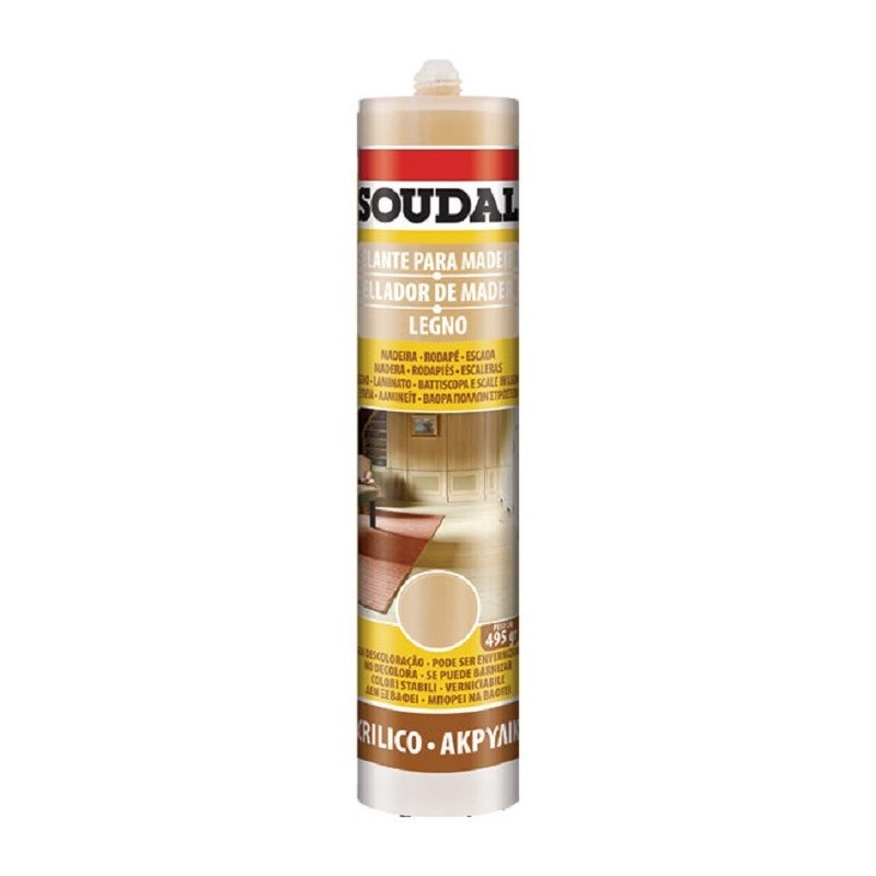 Cartucho Sellador de Madera - Soudal - 300 ml