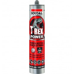 Cartucho Adhesivo de Montaje T-Rex Power - Soudal- 290 ml