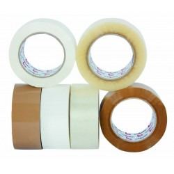 Cinta Adhesiva Polipropileno Solvente Ancho 48 mm Transparente - Cellofix - 6 unidades