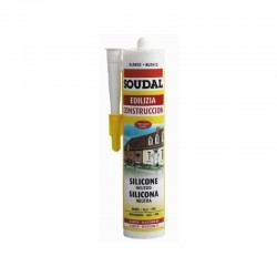 Cartucho de Silicona Neutra - Soudal - 300 ml