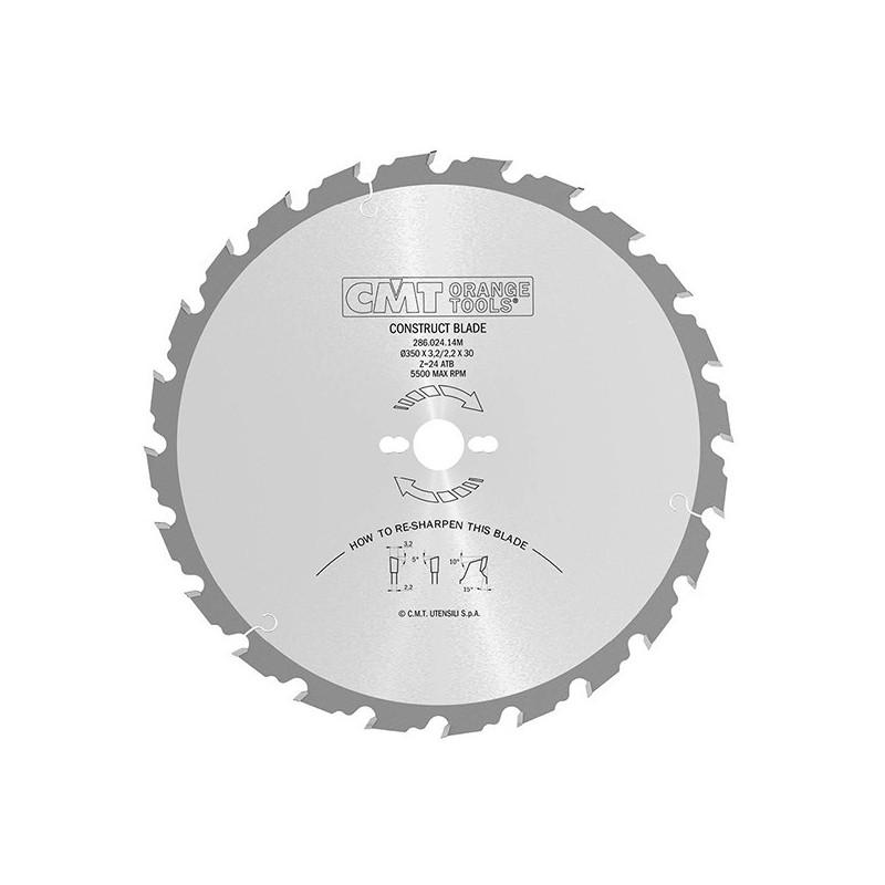 Sierras circulares con limitador para la construcción Serie 286 -CMT