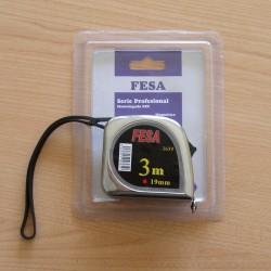 Flexómetro Model. 3659 Doble Parada  de 3 mts x 19 mm - FESA - Unidad