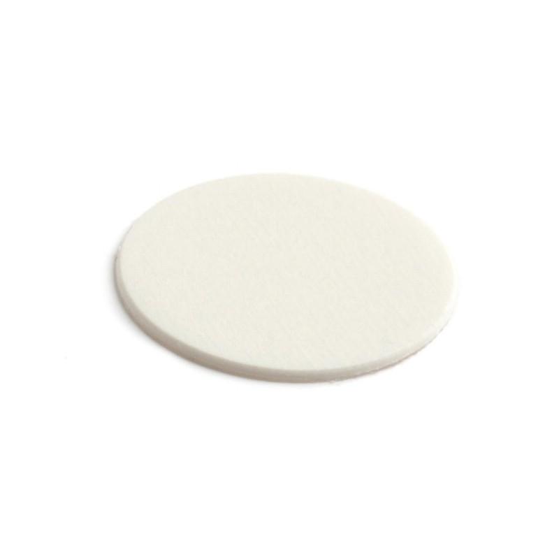 Tapón adhesivo ABS de 25 mm Trama 51117 - Ramo - Caja. Color blanco