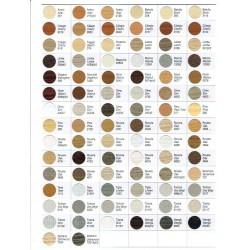 Catálogo de tapas adhesivas