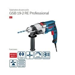 Taladro de percusión GSB 19-2 RE Professional - Bosch