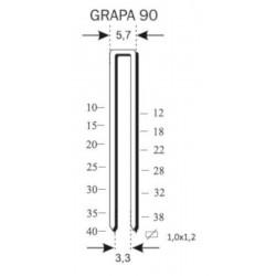 Grapas para la Grapadora 90/40AC - EZ-Fasten