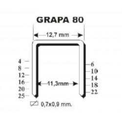 Grapas para Grapadora 80/16B - EZ-Fasten
